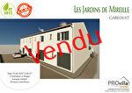 Garéoult maison t4 à vendre de 97,85m² avec un garage et un jardinet privatif.