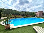 A vendre à NEOULES grande maison de 147m² de type 5 sur un terrain clos de 2615m².