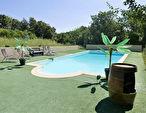 A VENDRE Sainte Anastasie sur Issole maison type 5 de 150m²  exposée sud avec piscine sur 3660m² de jardin