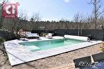 A vendre NEOULES au calme maison de type 4 de 98m² sur 1009m² avec piscine