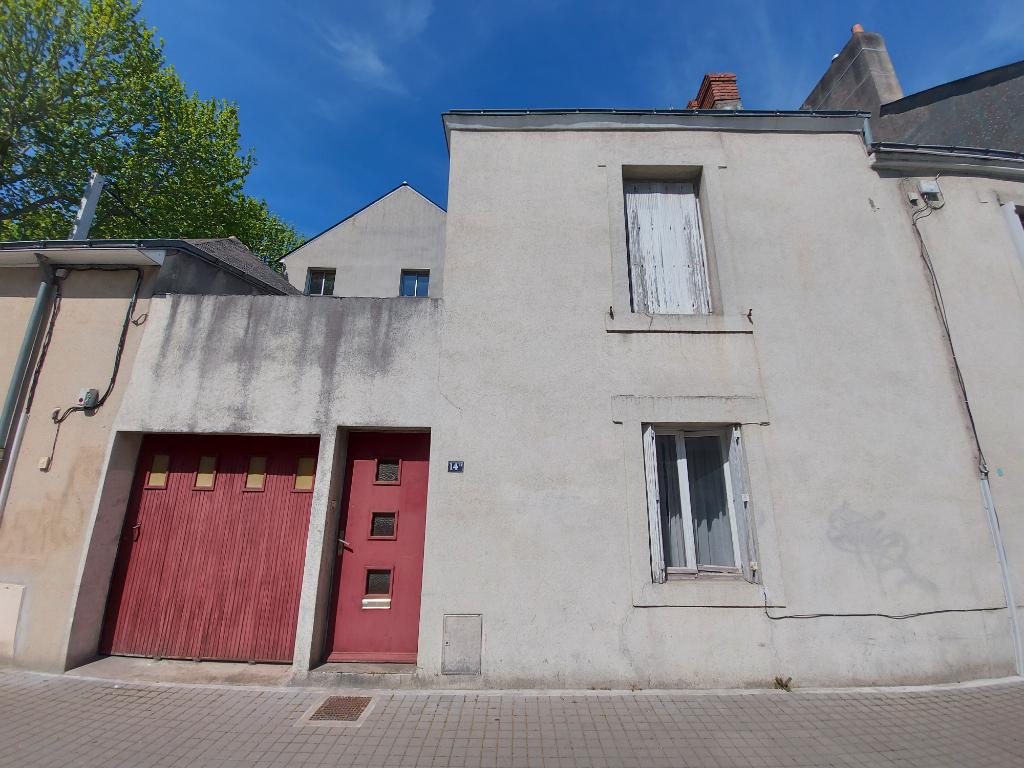 Maison Nantes République 3 P 60 m2 Garage & Terrasse.